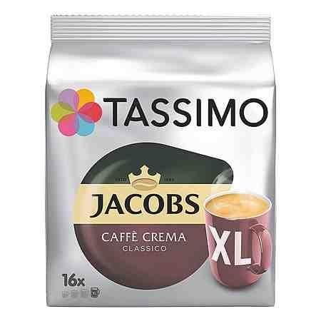 TASSIMO Kaffee-Discs »Jacobs Caffè Crema XL«