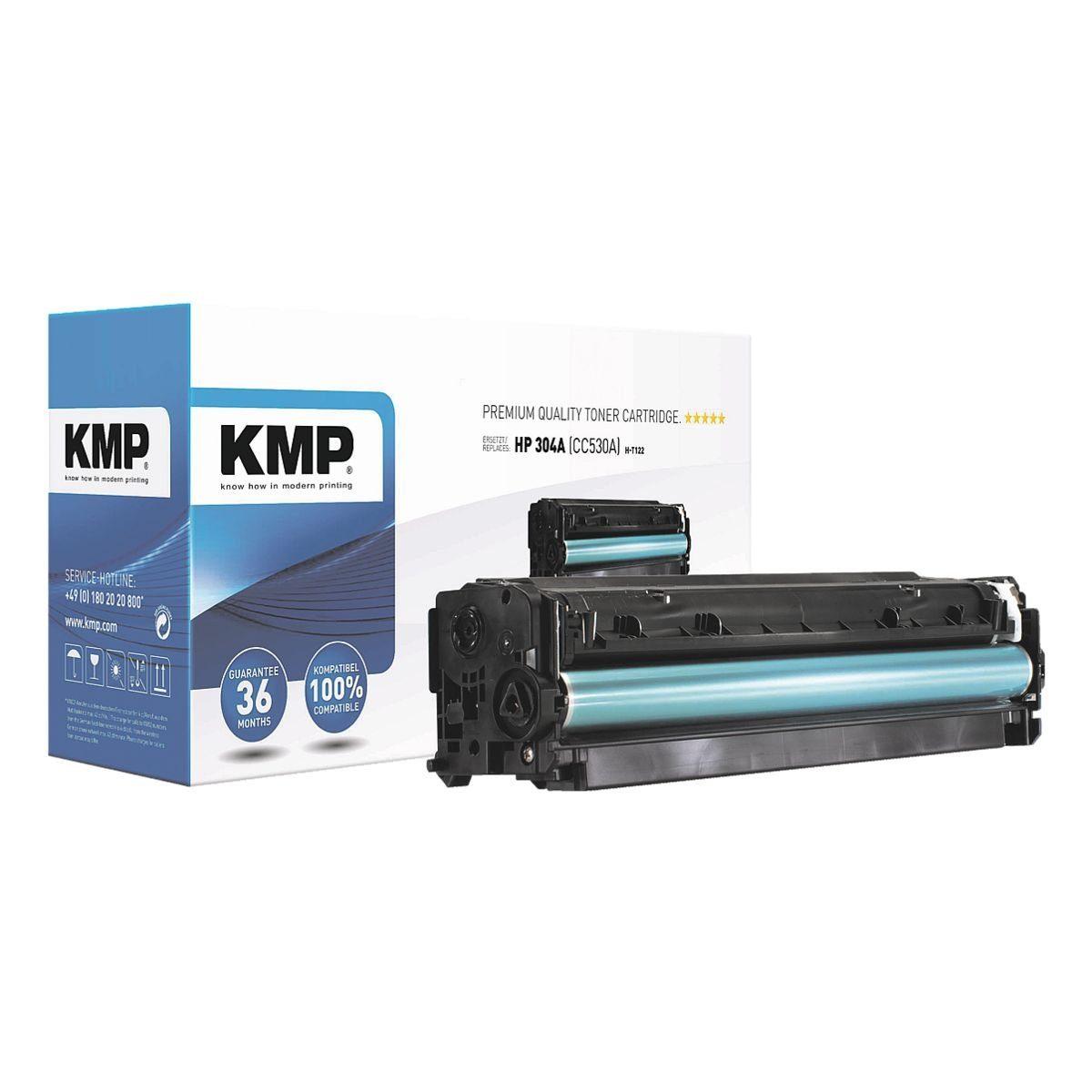 KMP Toner ersetzt HP »CC530A« 304A