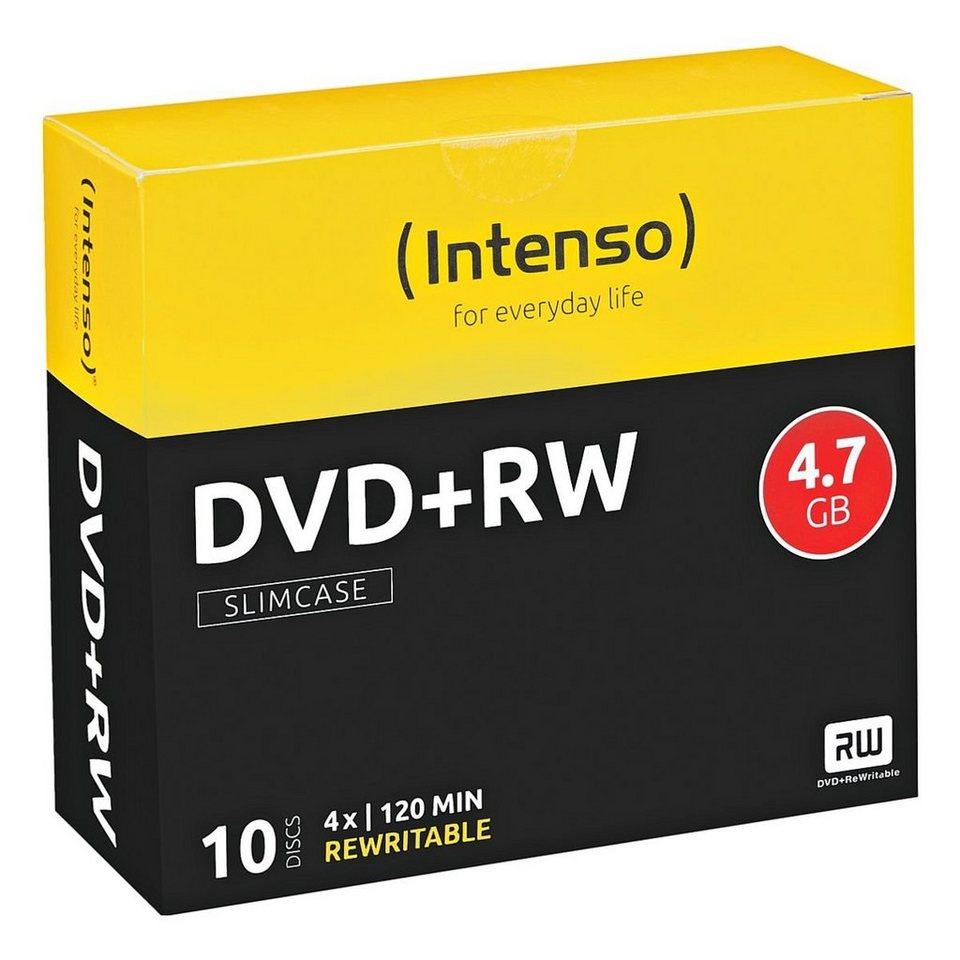 Intenso DVD-Rohlinge »DVD+RW«
