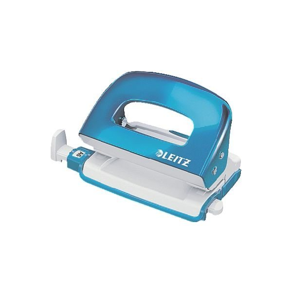 Leitz Locher »5060« WOW Mini in metallicblau