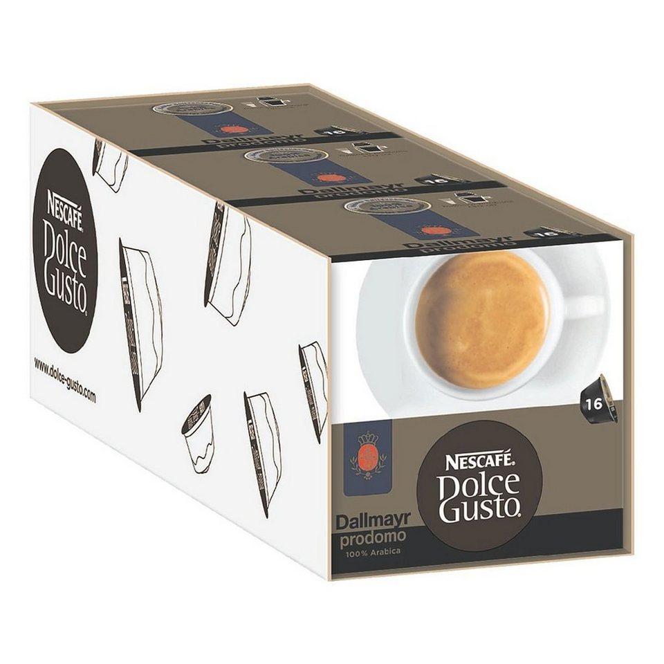 NESCAFE 3x Kaffeekapseln »Dolce Gusto Dallmayr Prodomo«