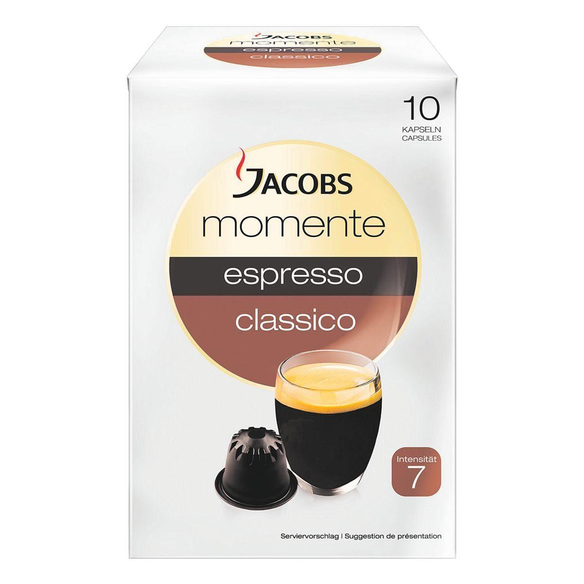 Jacobs Kaffeekapseln »espresso classico«