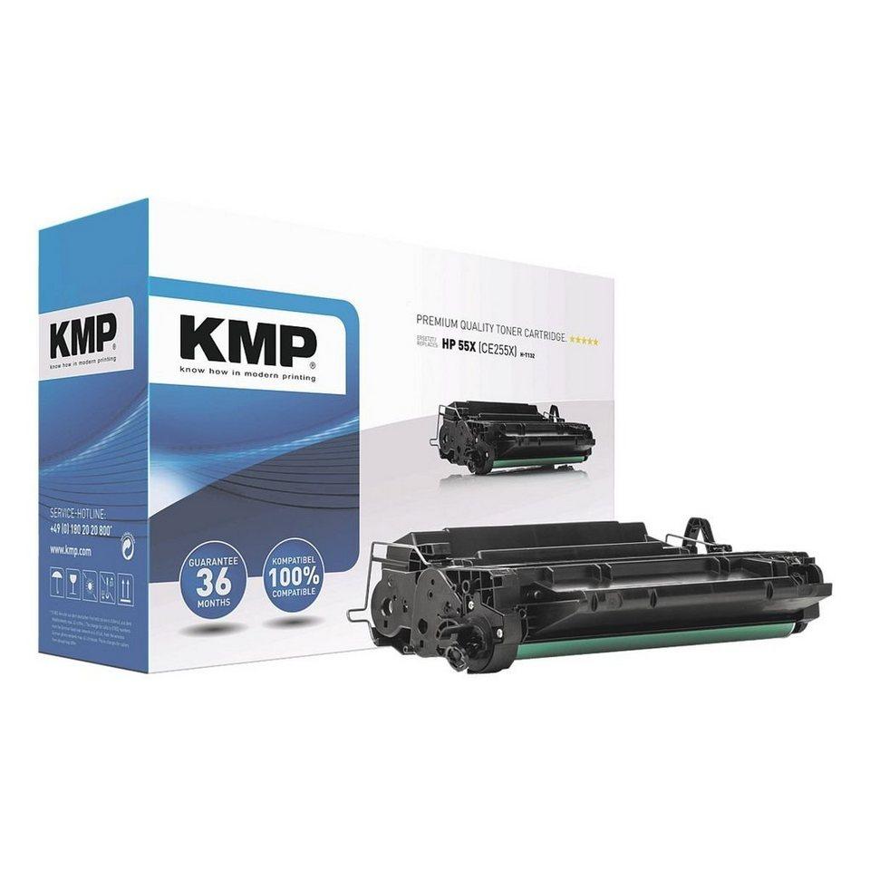 KMP Toner ersetzt HP »CE255X« 55X