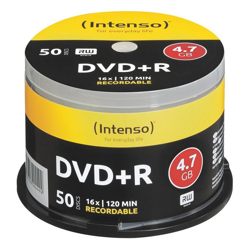 Intenso DVD-Rohlinge »DVD+R«