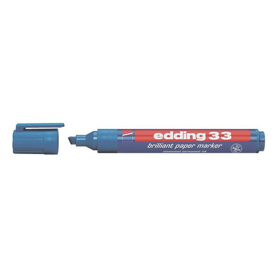 Edding Permanent-Marker »33« in blau