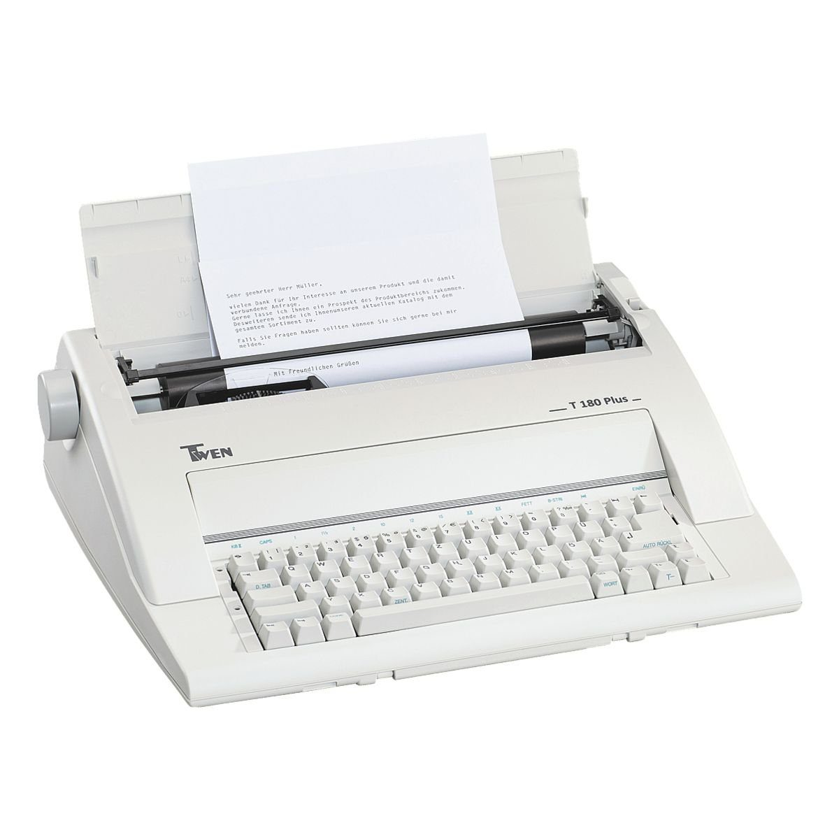 Triumph Adler Twen Elektronische Schreibmaschine »Twen 180 plus«