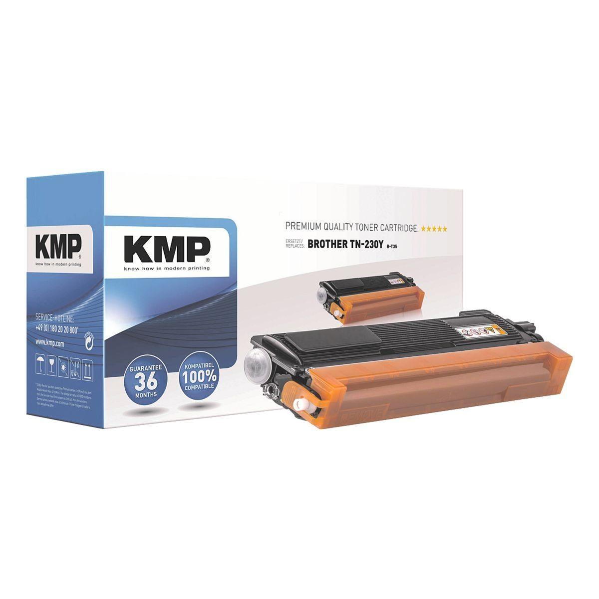KMP Toner ersetzt Brother »TN-230Y«
