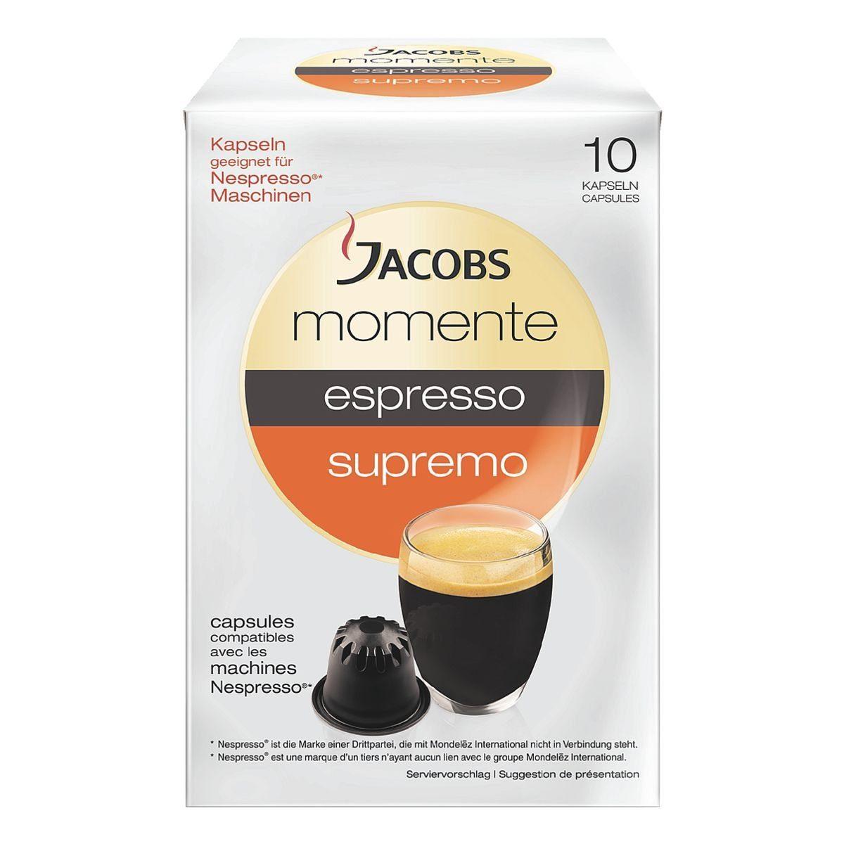 Jacobs Kaffeekapseln »espresso supremo«
