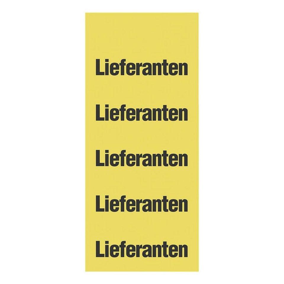 OTTO Office Standard Inhaltsschilder »Lieferanten«