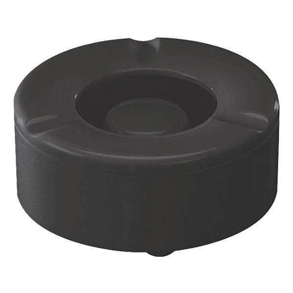 Windaschenbecher in schwarz