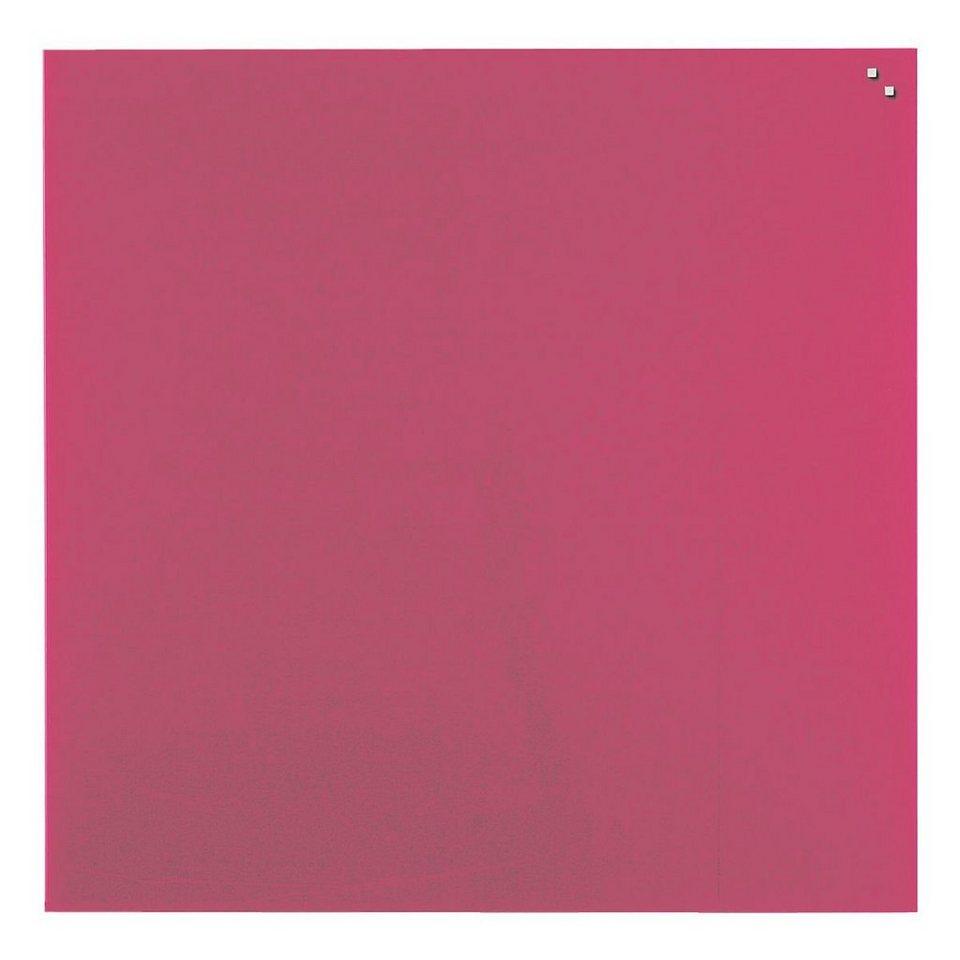 Franken Glas-Magnettafel in rot