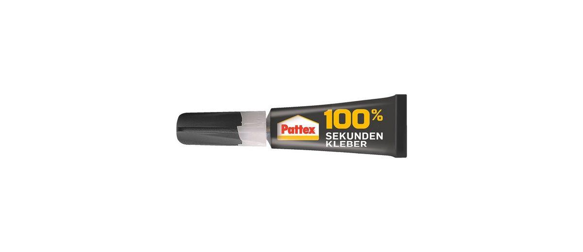 Pattex Sekundenkleber »100%«