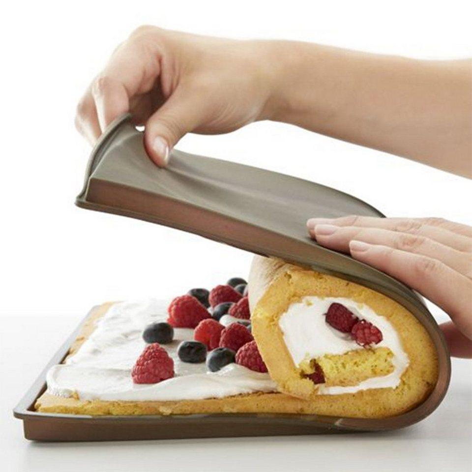 LEKUE Lekue Kit Roll Cake in rot
