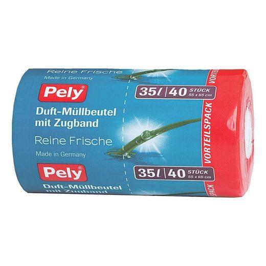 PELY 40 Müllbeutel 35 L transparent