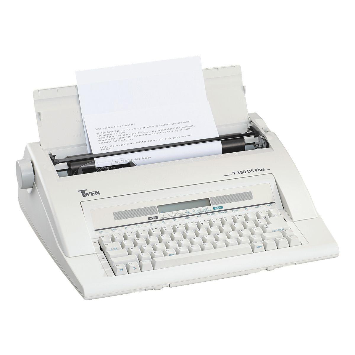 Triumph Adler Twen Elektronische Schreibmaschine »Twen 180 DS plus«