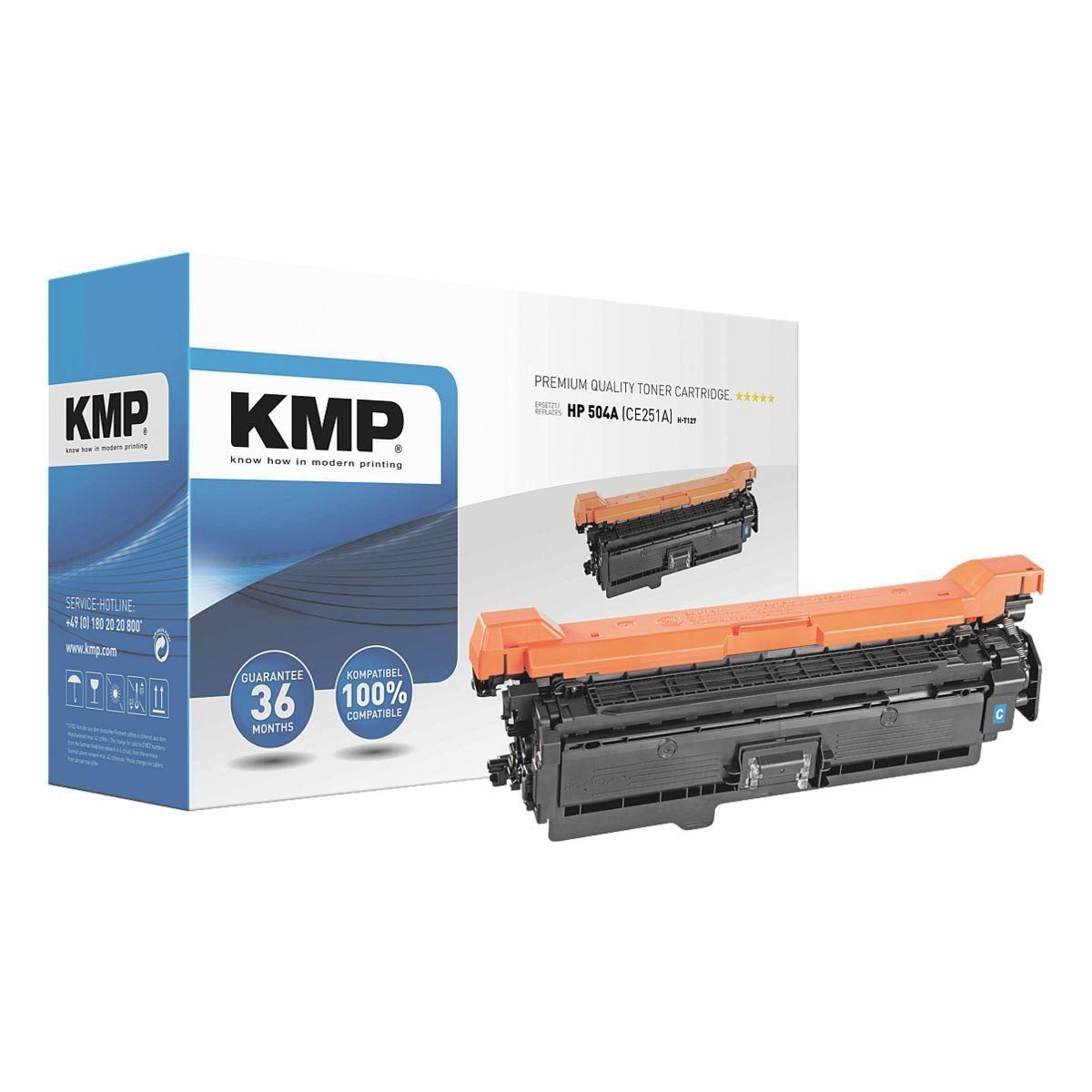 KMP Toner ersetzt HP »CE251A« 504A