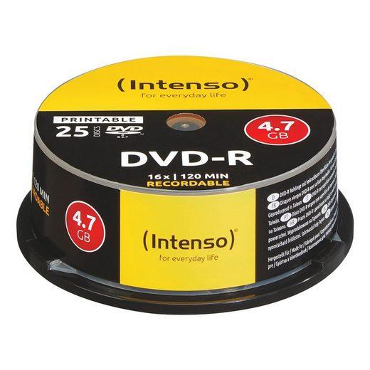intenso dvd rohlinge printable dvd r speicherkapazit t 4700 mb online kaufen otto. Black Bedroom Furniture Sets. Home Design Ideas