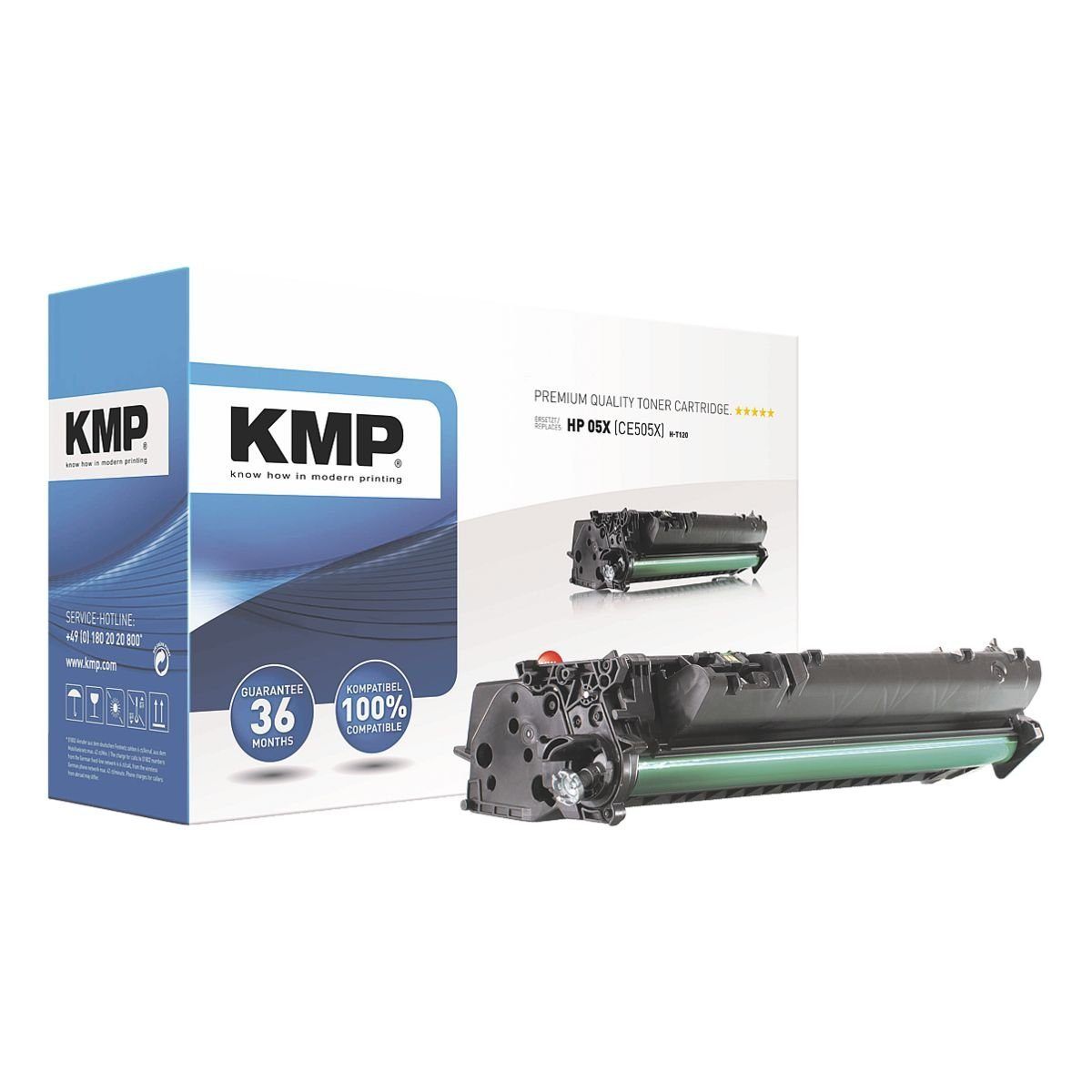 KMP Toner ersetzt HP »CE505X« 05X