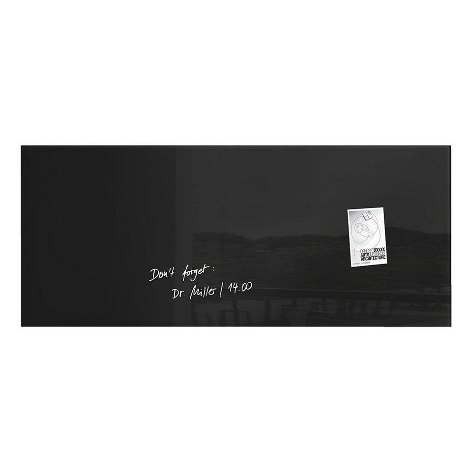 Sigel Glas-Magnettafel »artverum®« in schwarz