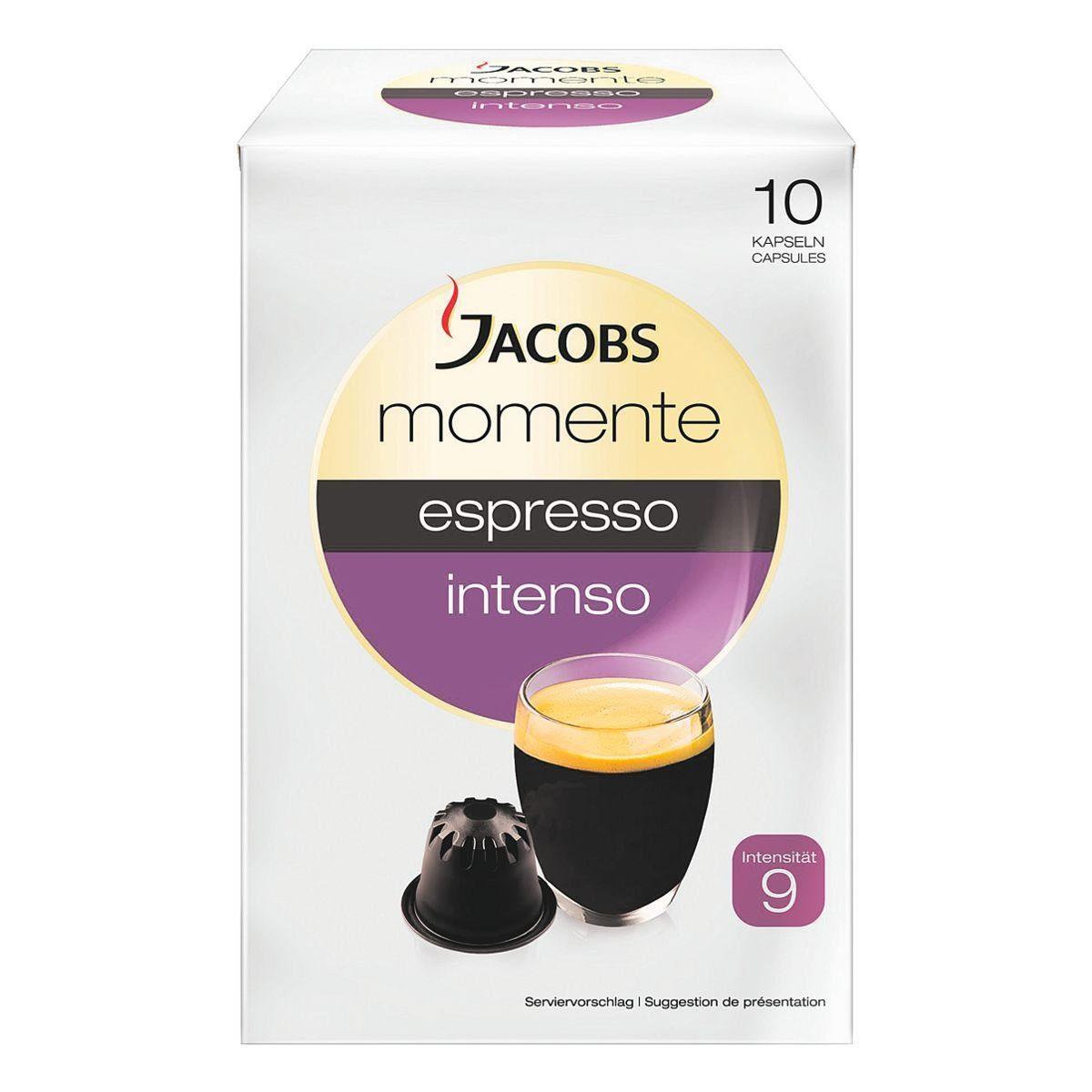 Jacobs Kaffeekapseln »espresso intenso«