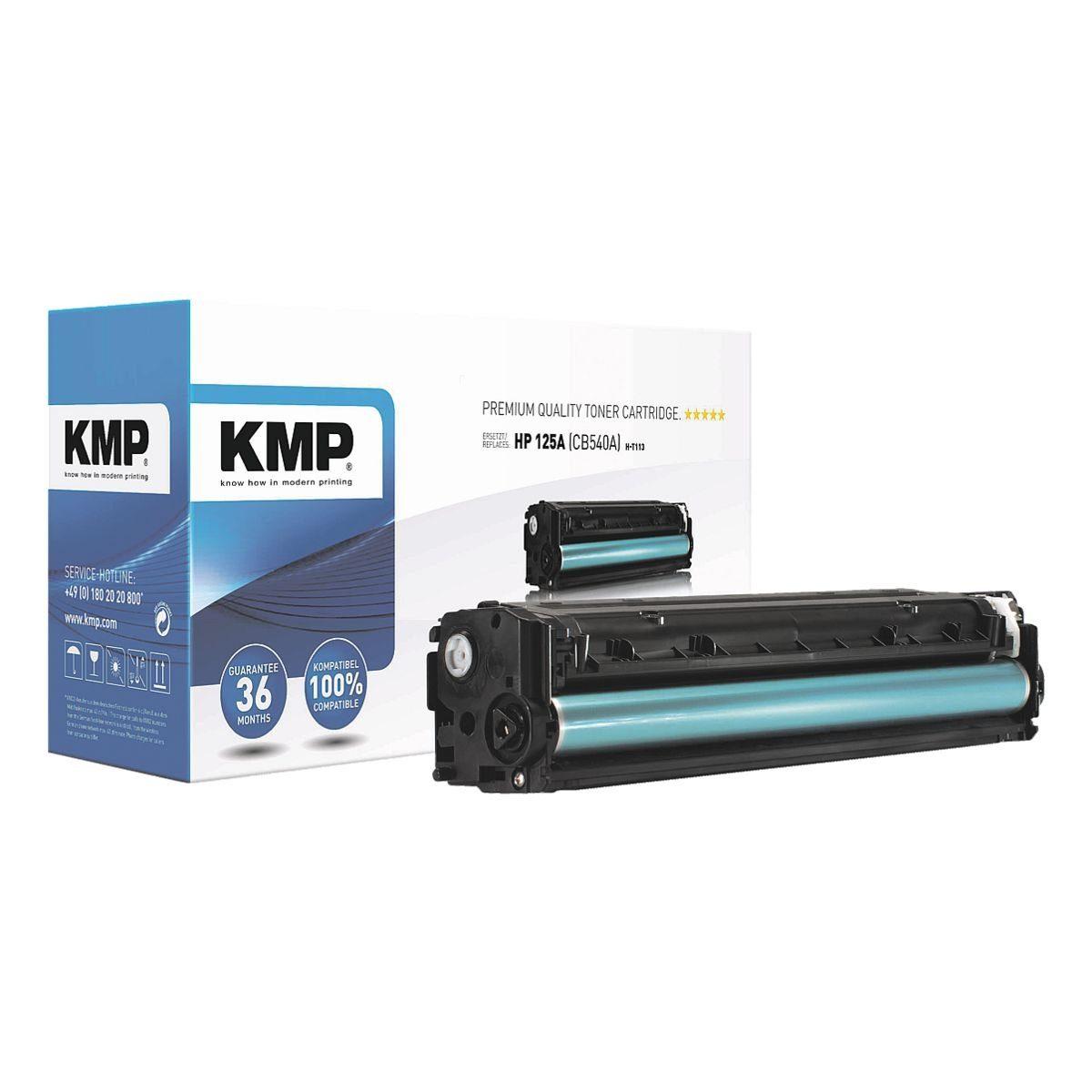 KMP Toner ersetzt HP »CB540A« 125A