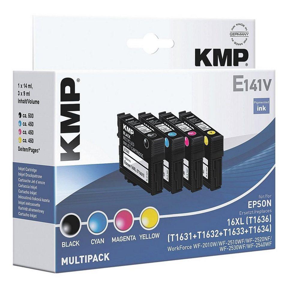 KMP Tintenpatronen-Set ersetzt Epson »T1636XL«