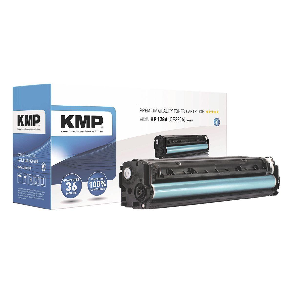 KMP Toner ersetzt HP »CE320A« 128A