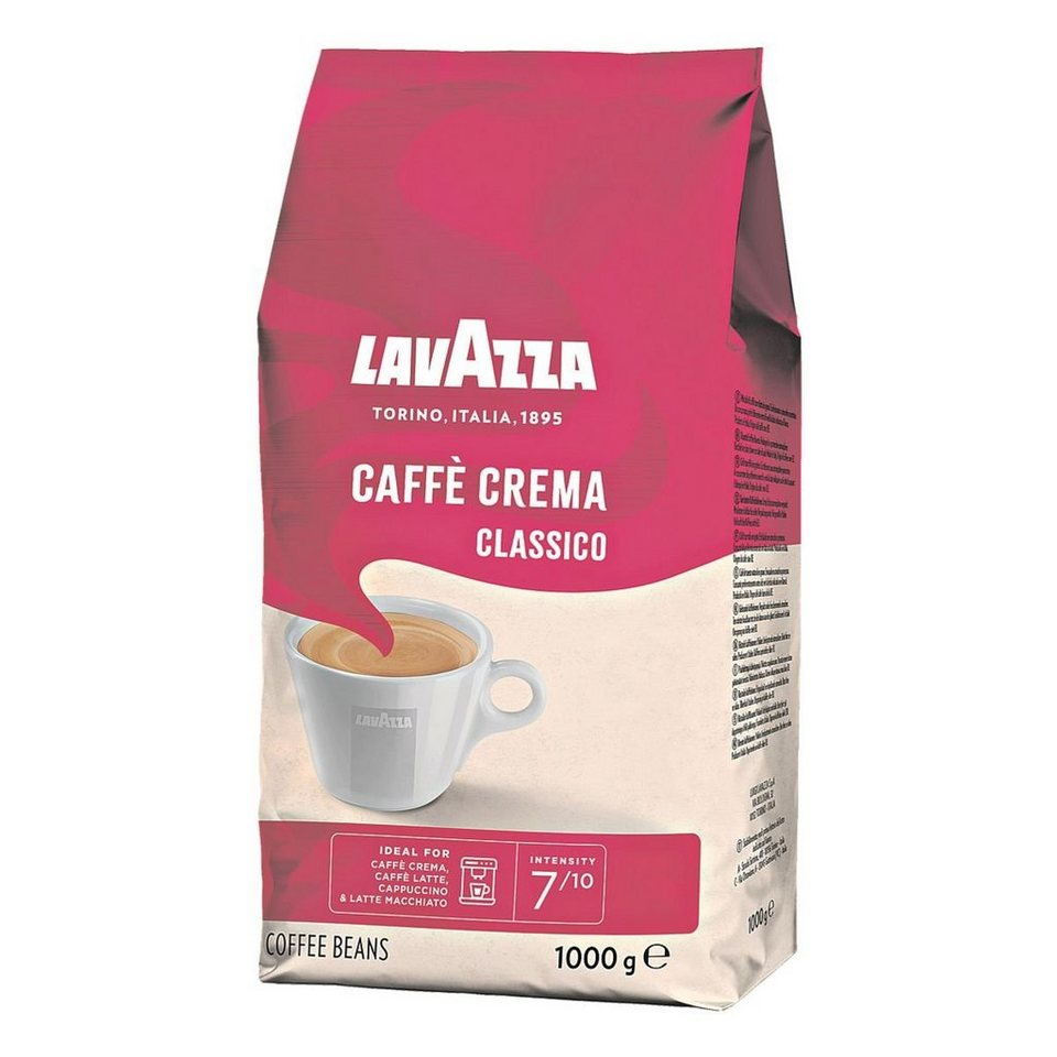 lavazza kaffee ganze bohnen 1000 g classico crema. Black Bedroom Furniture Sets. Home Design Ideas