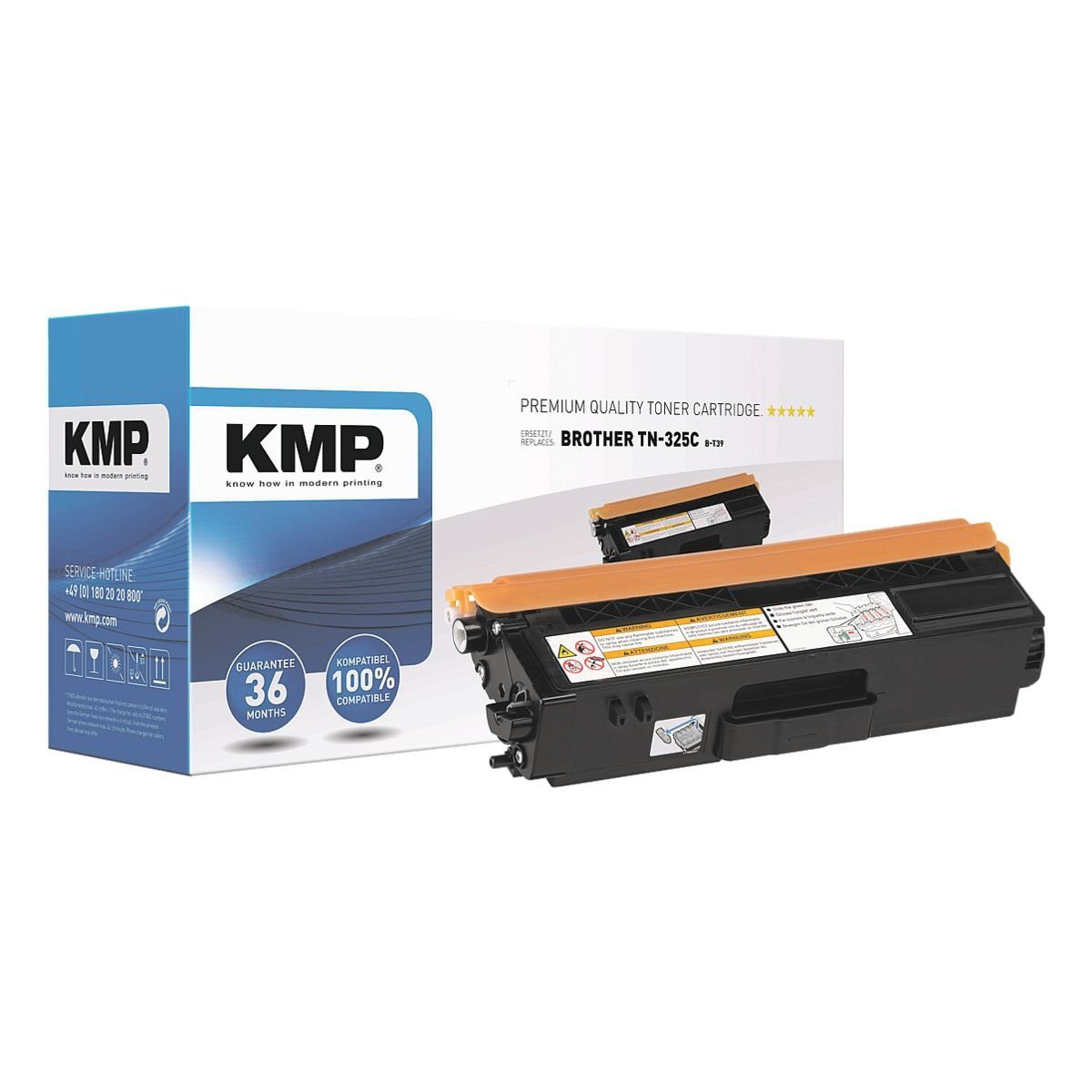 KMP Toner ersetzt Brother »TN-325C«