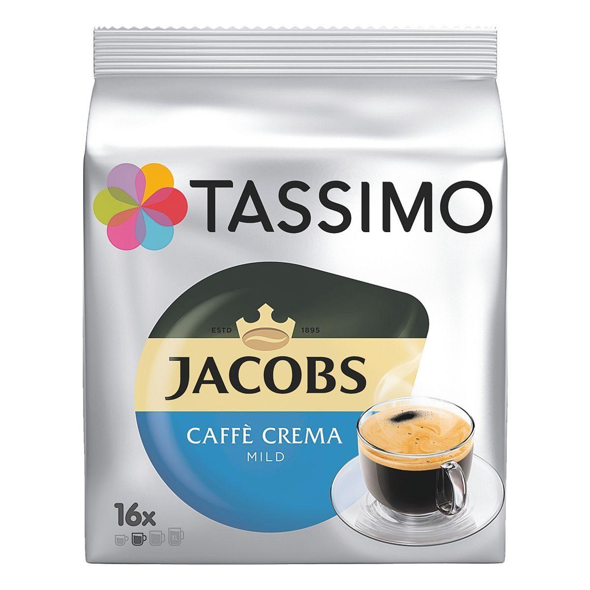 TASSIMO Kaffee-Discs »Jacobs Caffè Crema«