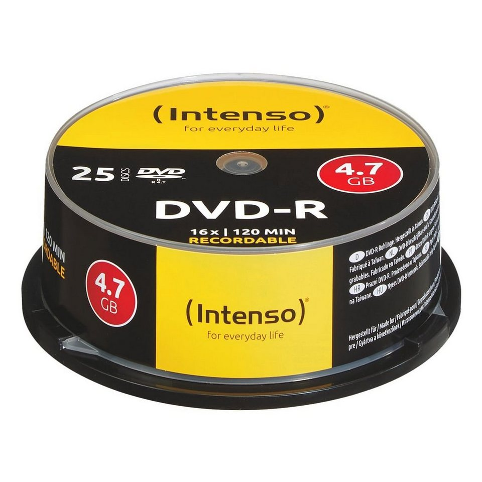 INTENSO DVD-Rohlinge »DVD-R«