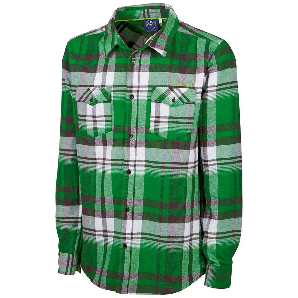 Chiemsee Flanell-Hemd »HYNEK« in fern green
