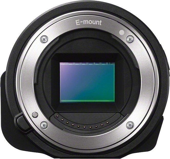 Sony Cyber-Shot ILCE-QX1 Objektivkamera, 20,1 Megapixel, Display in schwarz