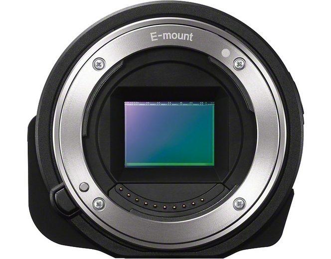 Sony Cyber-Shot ILCE-QX1 Objektivkamera, 20,1 Megapixel, Display