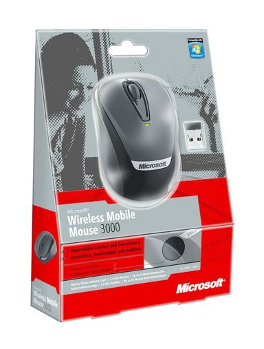 microsoft pc zubeh r wireless mobile mouse 3000 v2 online kaufen otto. Black Bedroom Furniture Sets. Home Design Ideas