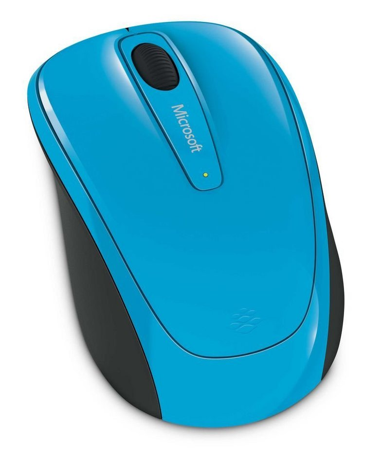 Microsoft PC - Zubehör »Wireless Mobile Mouse 3500 - cyan blue«