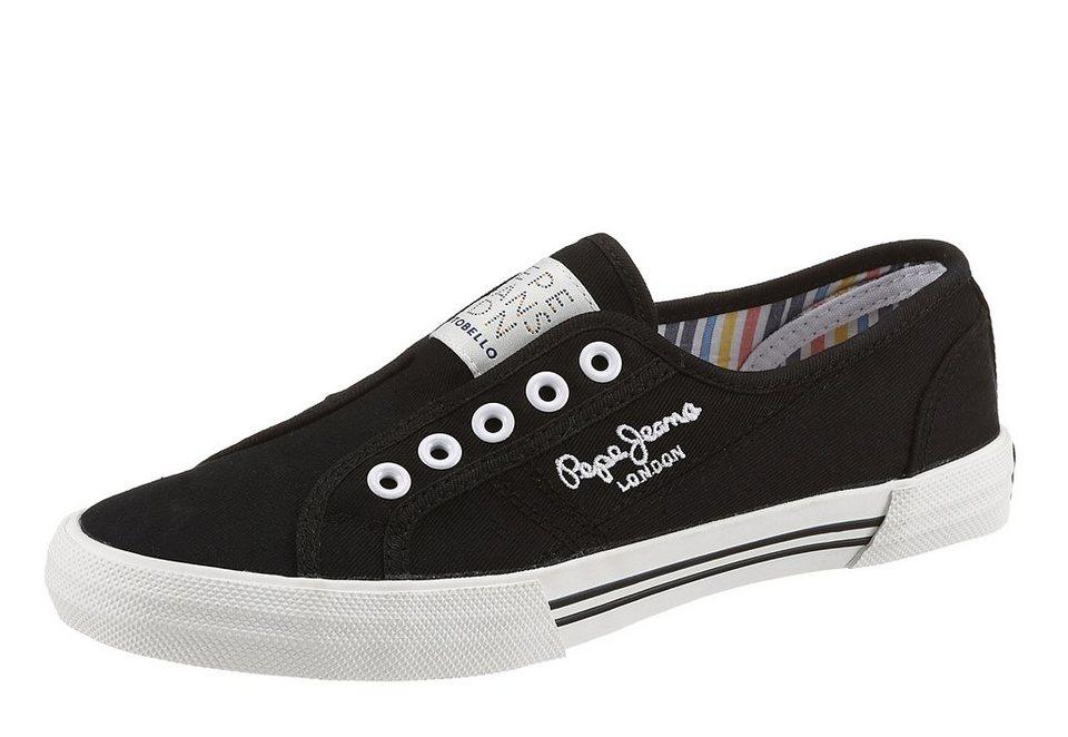 Pepe Jeans Sneaker in schwarz