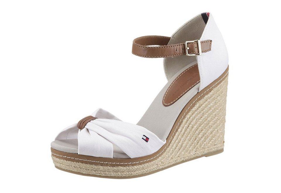 Sandalette, Tommy Hilfiger in weiß
