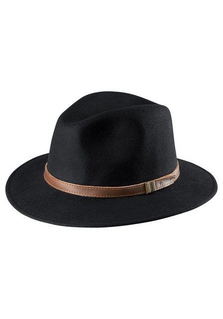 J.Jayz Trilby (1-St) aus Wollfilz, dekoratives Hutband | Accessoires > Hüte > Trilbys | J.Jayz
