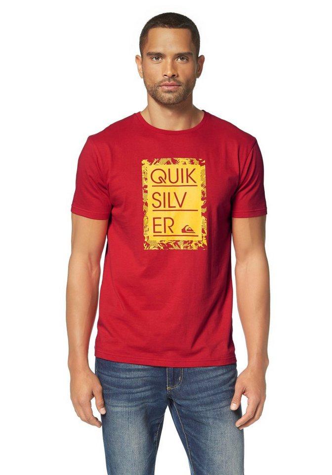 Quiksilver T-Shirt in Rot