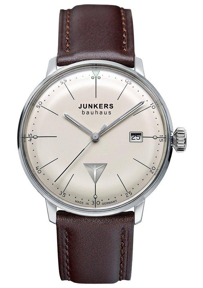 """Junkers-Uhren, Armbanduhr, """"Bauhaus, 6070-5"""" in braun"""