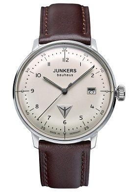 Junkers-Uhren Quarzuhr »BAUHAUS, 6046-5« Made in Germany in braun