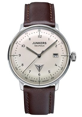 Junkers-Uhren Quarzuhr »BAUHAUS, 6046-5«, Made in Germany