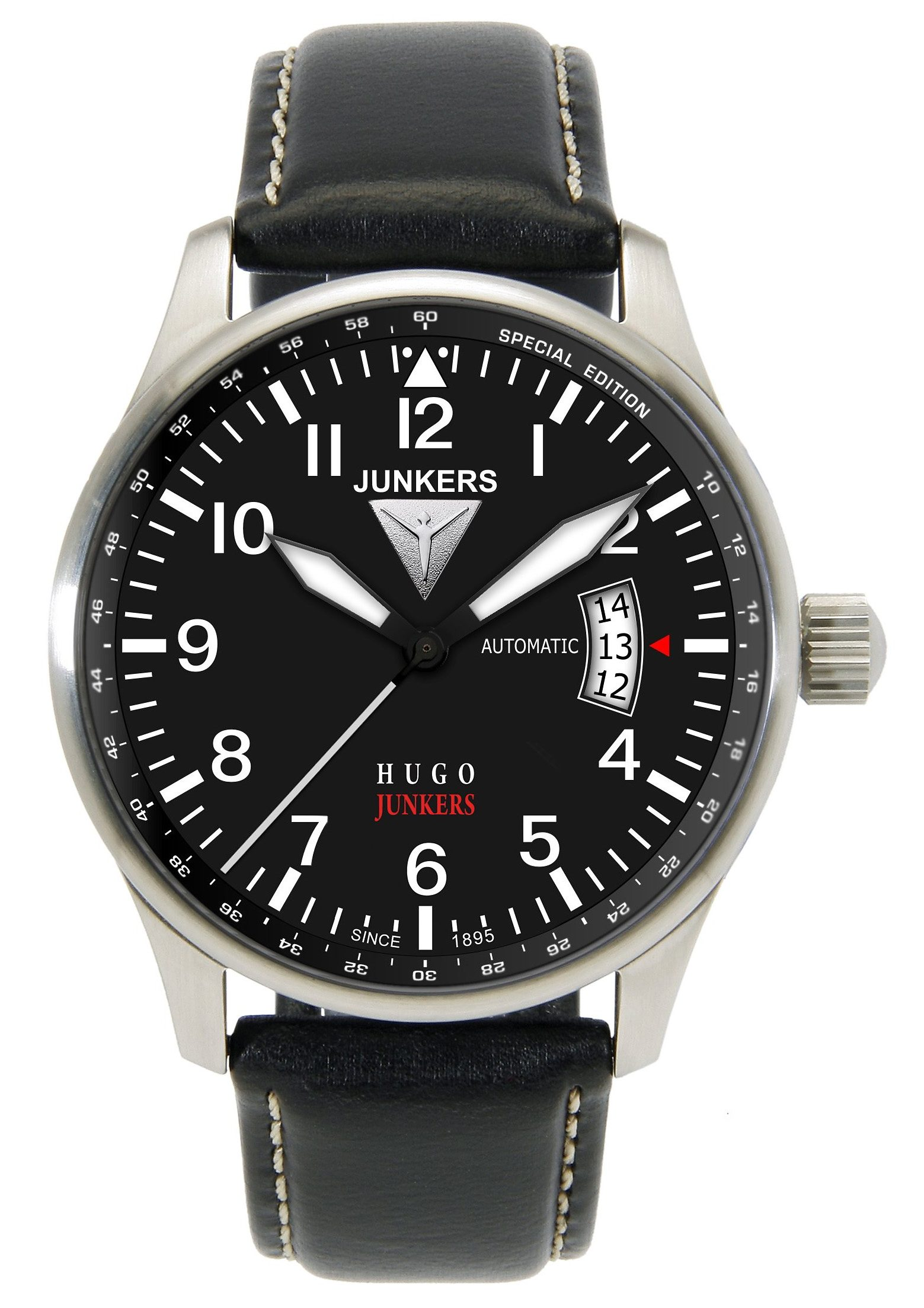 Junkers-Uhren Automatikuhr »Hugo Junkers, 6664-2«, Made in Germany