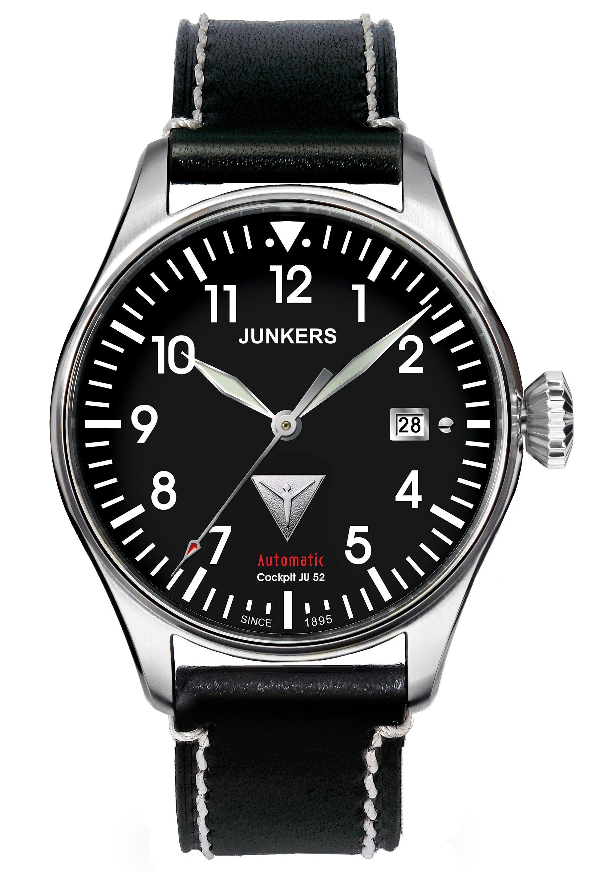 Junkers-Uhren Automatikuhr »Cockpit JU 52, 6150-2«