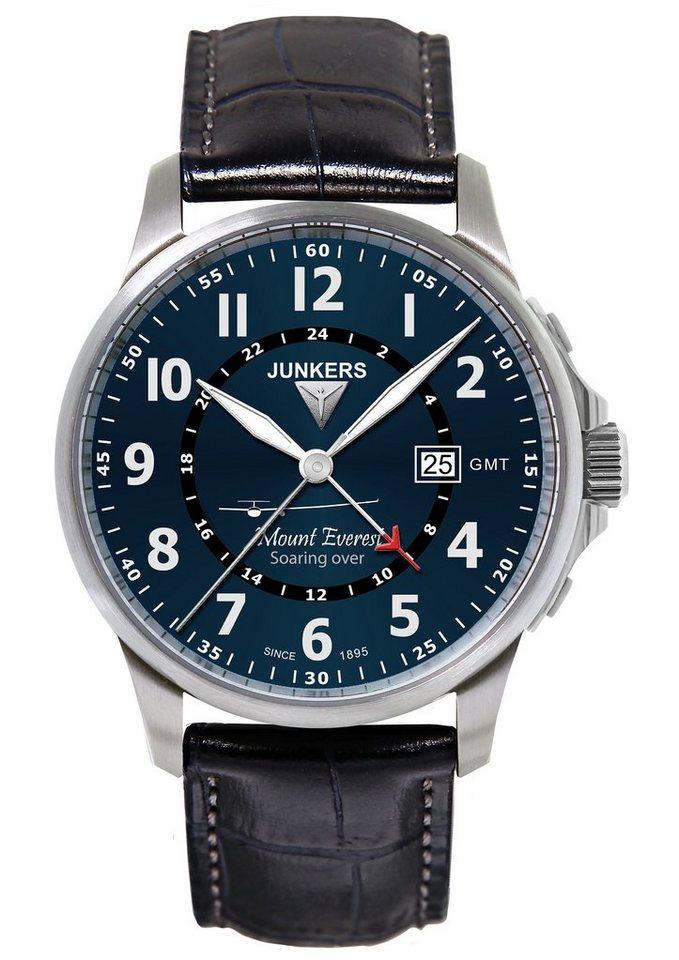Junkers-Uhren Quarzuhr »Mountain Wave Project, 6844-3« in dunkelblau