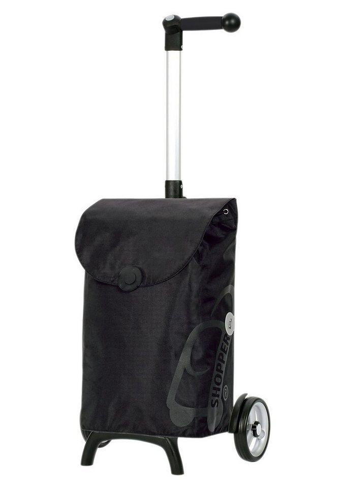 Andersen Einkaufstrolley »Unus Shopper® Fun Pepe« in schwarz