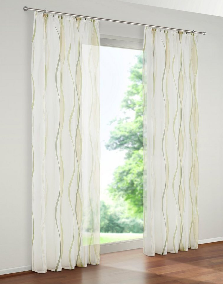 gardine dimona my home kr uselband 2 st ck otto. Black Bedroom Furniture Sets. Home Design Ideas