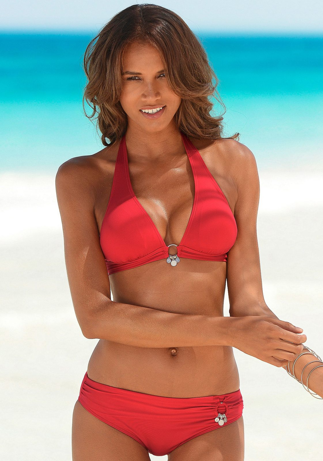 s.Oliver RED LABEL Beachwear Triangel-Bikini mit Accessoires
