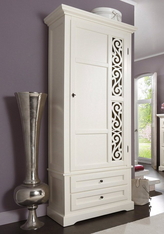 Premium collection by Home affaire Garderobenschrank »Arabeske« in creme